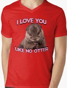 I love you like no otter Mens V-Neck T-Shirt