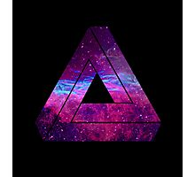 Abstract Geometry - Penrose Triangle - Galaxy Photographic Print