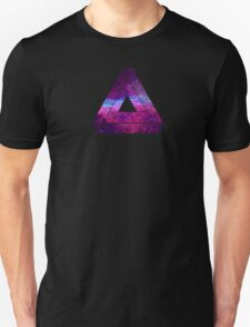 Abstract Geometry - Penrose Triangle - Galaxy Unisex T-Shirt
