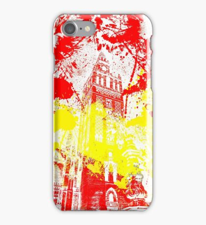 The Giralda - Spanish Flag iPhone Case/Skin