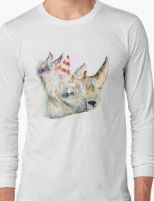 Rhino Party Long Sleeve T-Shirt