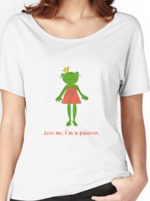 Love me. I'm a princess. Women's Relaxed Fit T-Shirt