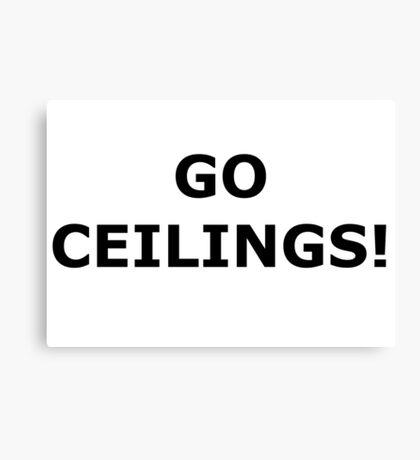 Ceiling Fan Canvas Print