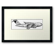 C-17A Globemaster III Framed Print