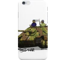 The Dogs of War: Jagdpanther iPhone Case/Skin