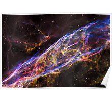 Veil Nebula Supernova Remnant Poster