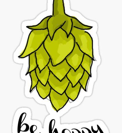 Be Hoppy Sticker