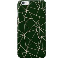 Web Green and Pink iPhone Case/Skin