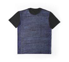 Blue Distortion  Graphic T-Shirt
