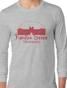 FSU Westcott Building (Cinderella's Castle Parody) Long Sleeve T-Shirt