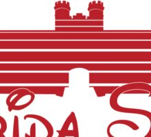 FSU Westcott Building (Cinderella's Castle Parody) Sticker