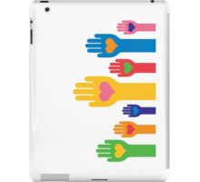 no to racism iPad Case/Skin