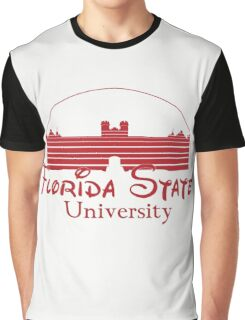 FSU Westcott Building (Cinderella's Castle Parody) Graphic T-Shirt