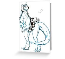 Tauntaun Greeting Card