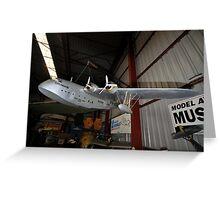 Empire Flying Boat Model,Bankstown Airport,Australia 2013 Greeting Card