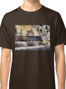 Rocky Mountain Ranger Train Classic T-Shirt