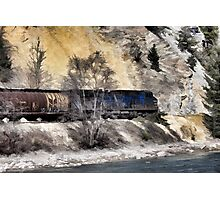 Rocky Mountain Ranger Train Photographic Print