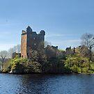 Urquhart Castle by Arie Koene