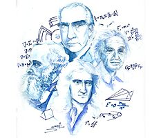 The Sciences - Physics Photographic Print
