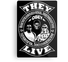 They Live Metal Print
