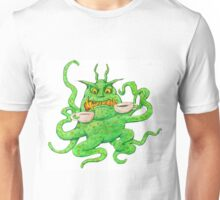 Slimy Monster likes Coffee Unisex T-Shirt