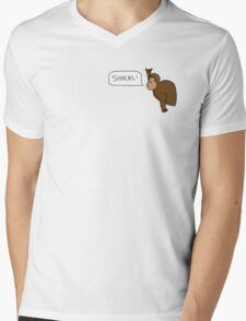 Shakas Gorilla Mens V-Neck T-Shirt