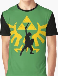 The power of three (Legend of Zelda) Graphic T-Shirt