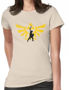 The power of three (Legend of Zelda) Womens Fitted T-Shirt