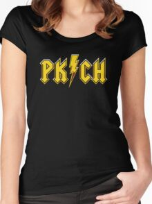 PK/CH Women's Fitted Scoop T-Shirt