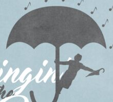 Singin' in the Rain Poster Sticker