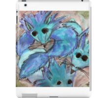 Blue Fox iPad Case/Skin