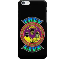 They Live Colour iPhone Case/Skin