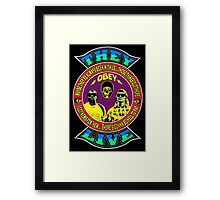 They Live Colour Framed Print