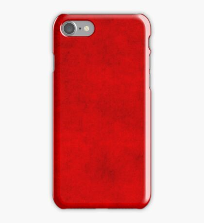 Vintage Christmas Burgundy Red Parchment Paper Background iPhone Case/Skin
