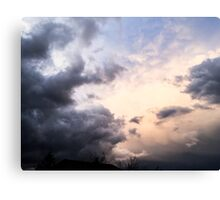 Edge of the Storm Canvas Print