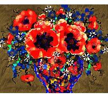 Joyful Poppies Photographic Print
