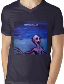 Dino Jr Mens V-Neck T-Shirt