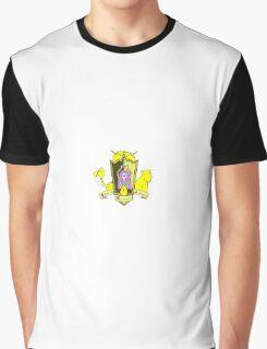 Castle Lemongrab Coat of Arms Graphic T-Shirt