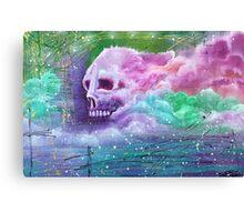 Skull Cloud Canvas Print