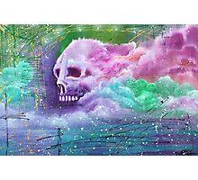 Skull Cloud Photographic Print