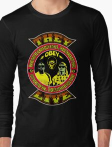 They Live Colour 2 Long Sleeve T-Shirt