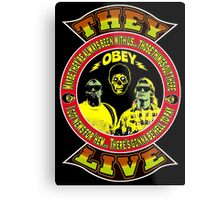 They Live Colour 2 Metal Print