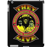 They Live Colour 2 iPad Case/Skin