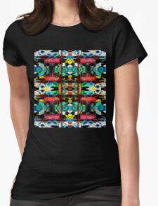 Shamadelic two Womens Fitted T-Shirt