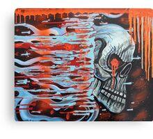 13TH Skull Metal Print