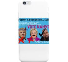 voting: they all suck iPhone Case/Skin