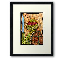 Mutant Turtle Framed Print