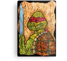 Mutant Turtle Metal Print
