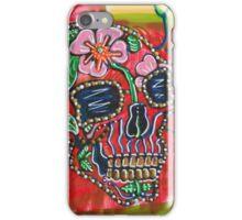 Skull of Flowers iPhone Case/Skin