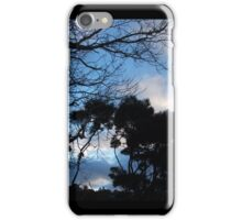 Silhouettes At Dusk iPhone Case/Skin